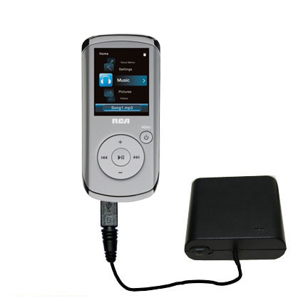 AA Battery Pack Charger compatible with the RCA M4108 Digital Music Player