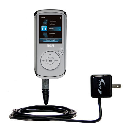 Wall Charger compatible with the RCA M4108 Digital Music Player