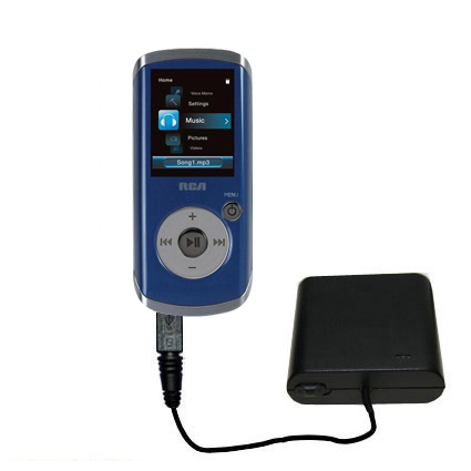 AA Battery Pack Charger compatible with the RCA M4204 OPAL Digital Media Player