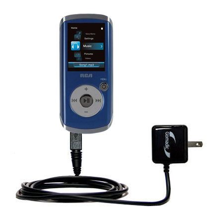 Wall Charger compatible with the RCA M4204 OPAL Digital Media Player
