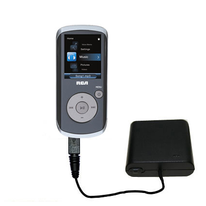 AA Battery Pack Charger compatible with the RCA M4208 OPAL Digital Media Player