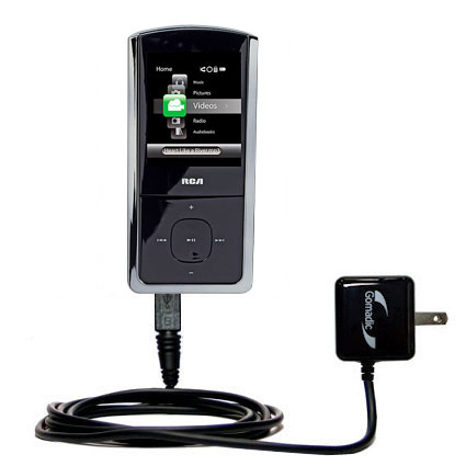 Wall Charger compatible with the RCA M4302 Digital Music Player