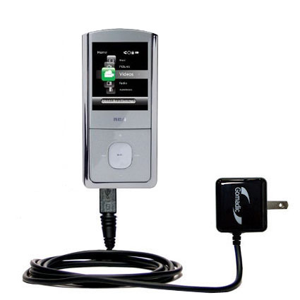 Wall Charger compatible with the RCA M4304 Digital Music Player