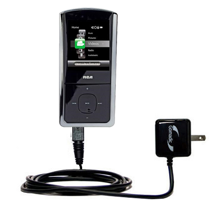 Wall Charger compatible with the RCA M4308 Opal Digital Media Player
