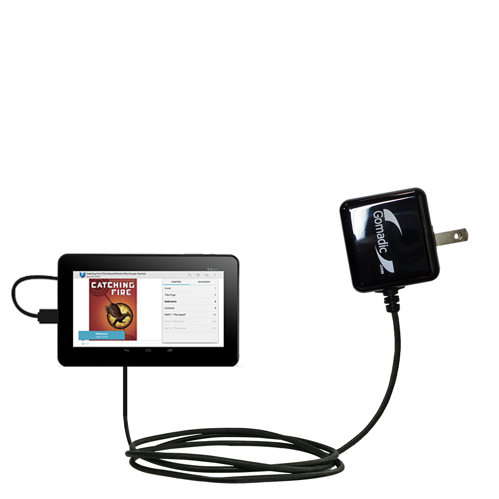 Wall Charger compatible with the RCA RCT6691W3