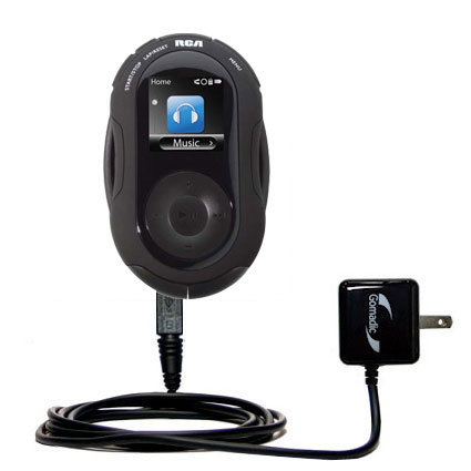 Wall Charger compatible with the RCA S2204 JET Digital Audio Player
