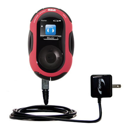 Wall Charger compatible with the RCA SC2202 JET Digital Audio Player