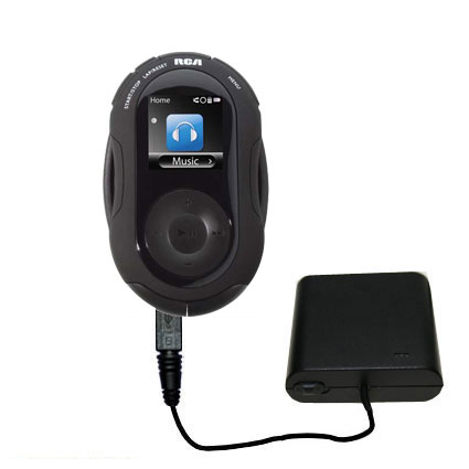 AA Battery Pack Charger compatible with the RCA SC2204 JET Digital Audio Player