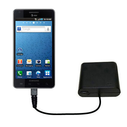 AA Battery Pack Charger compatible with the Samsung Infuse 4G