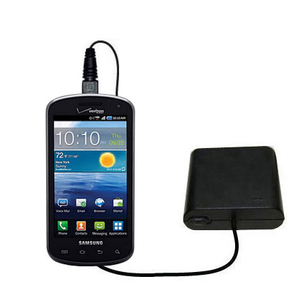 AA Battery Pack Charger compatible with the Samsung Stratosphere