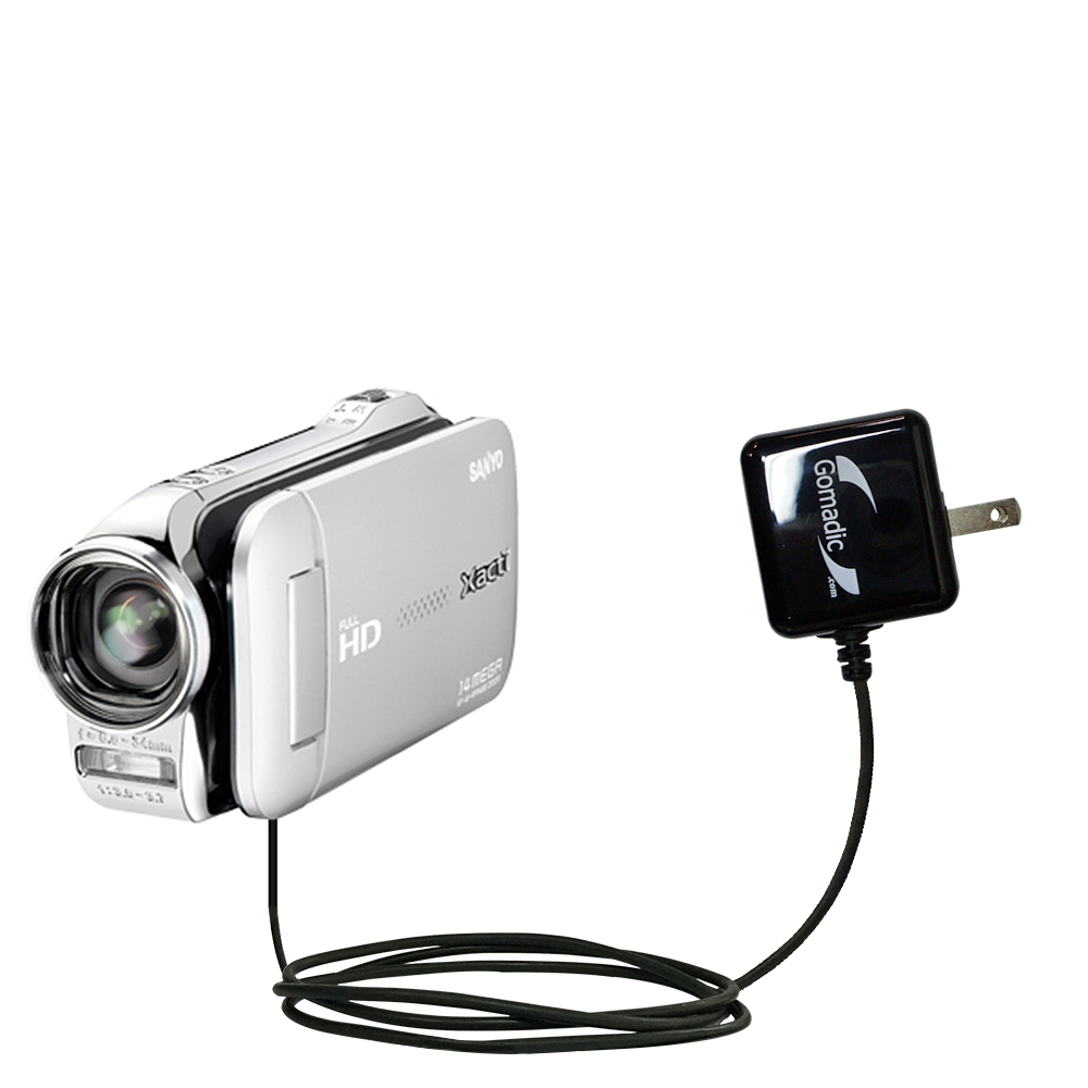 gomadic car and wall charger essential kit suitable for the sanyo rh gomadic com