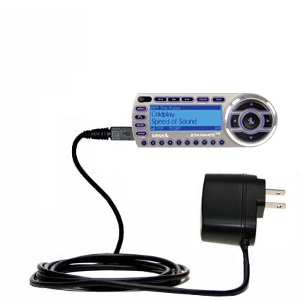 Wall Charger compatible with the Sirius StarMate ST2