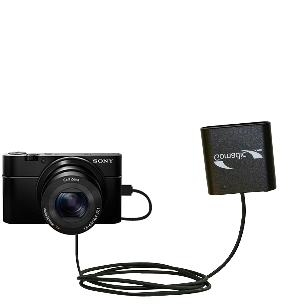 AA Battery Pack Charger compatible with the Sony Cybershot DSC-RX100