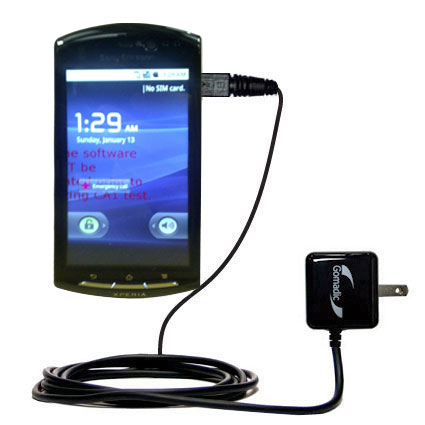 Wall Charger compatible with the Sony Ericsson LT15i