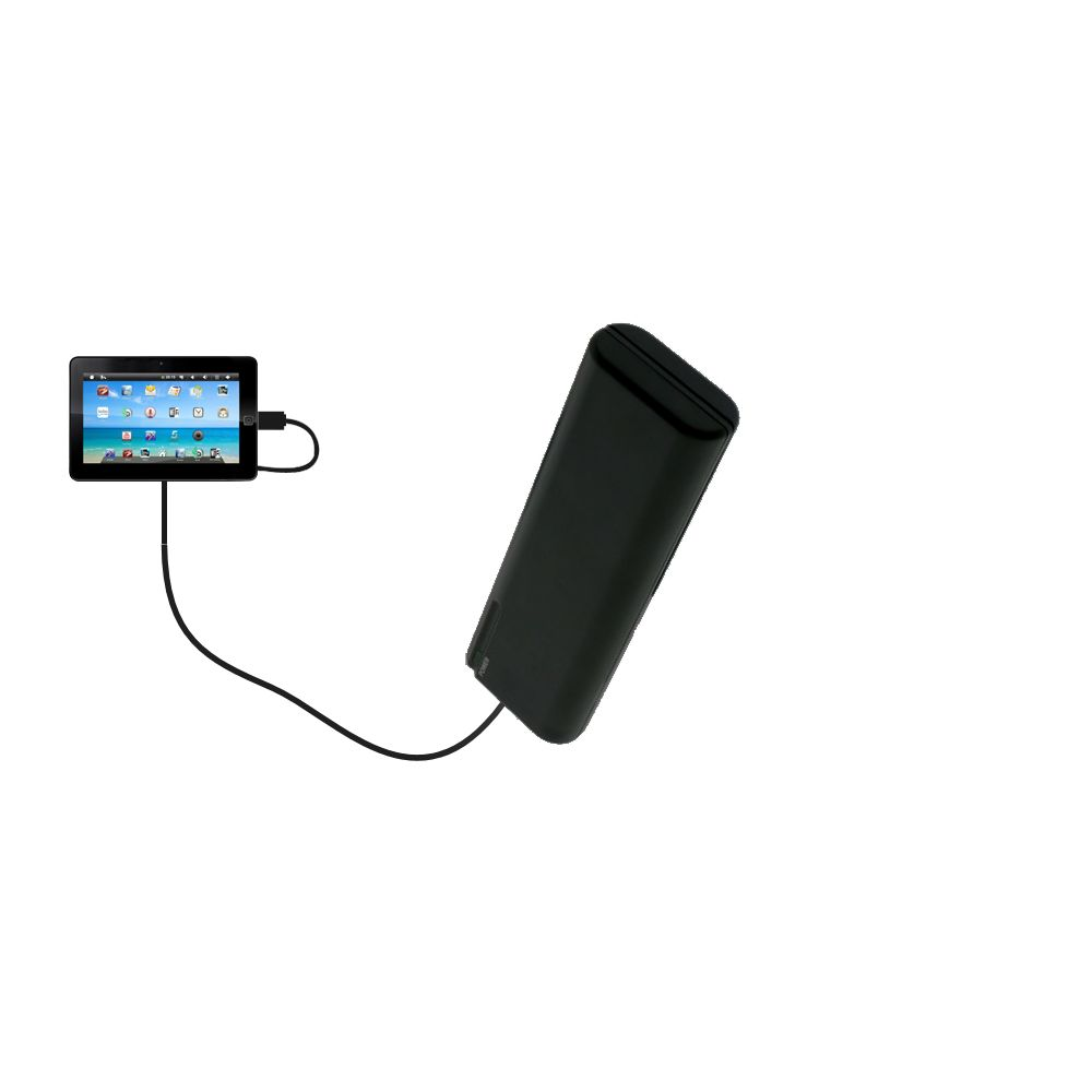 AA Battery Pack Charger compatible with the Sylvania SYTAB10ST 10 inch Magni Tablet