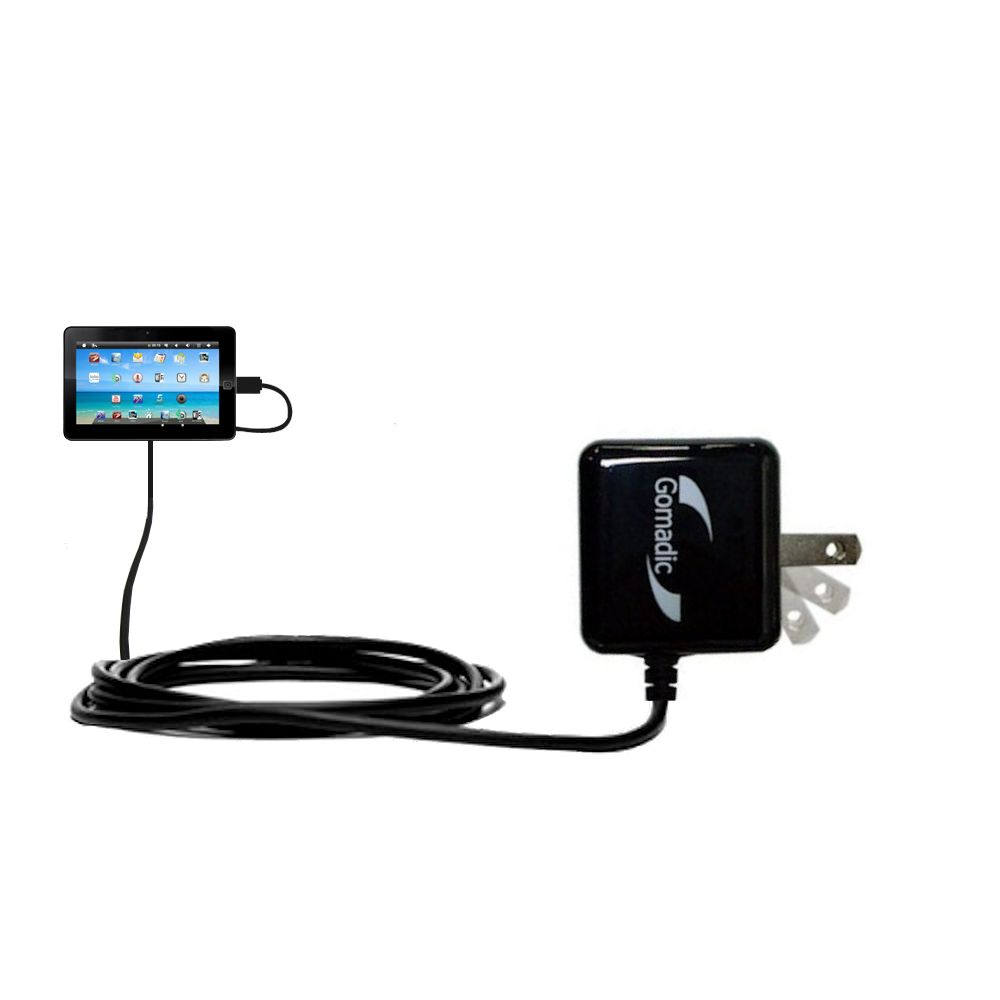 Wall Charger compatible with the Sylvania SYTAB10ST 10 inch Magni Tablet