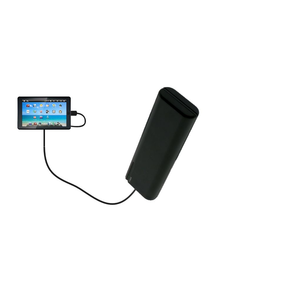 AA Battery Pack Charger compatible with the Sylvania SYTAB7MX 7 inch Tablet