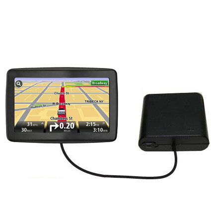 AA Battery Pack Charger compatible with the TomTom VIA 1500