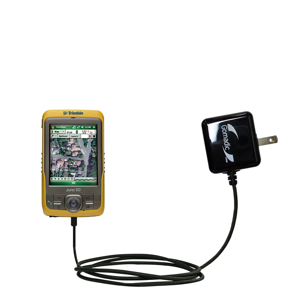 Gomadic Intelligent Compact Ac Home Wall Charger Suitable For The Trimble Juno Sd Sa Sb Sc High
