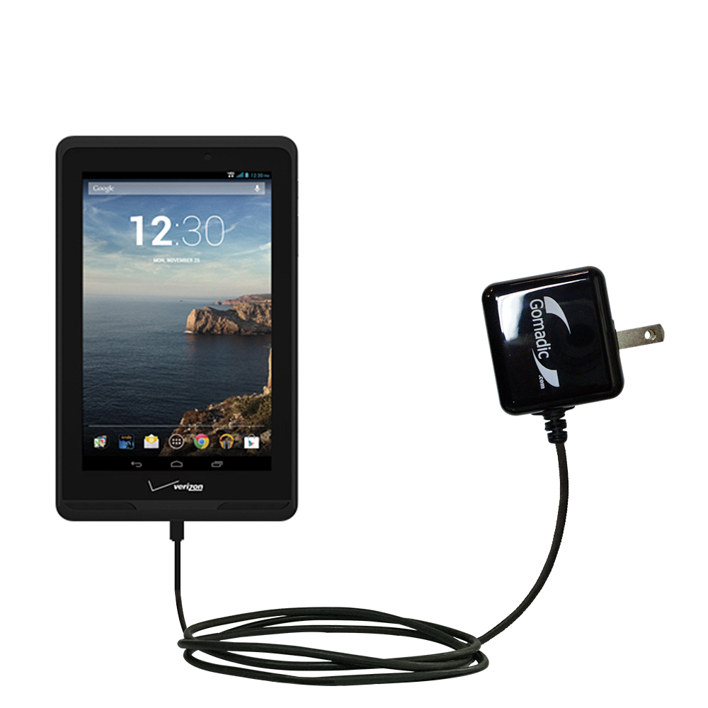 Wall Charger compatible with the Verizon Ellipsis 7