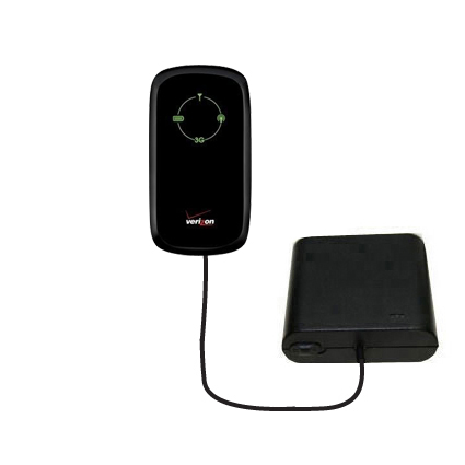 AA Battery Pack Charger compatible with the Verizon Fivespot 3G Mobile Hotspot