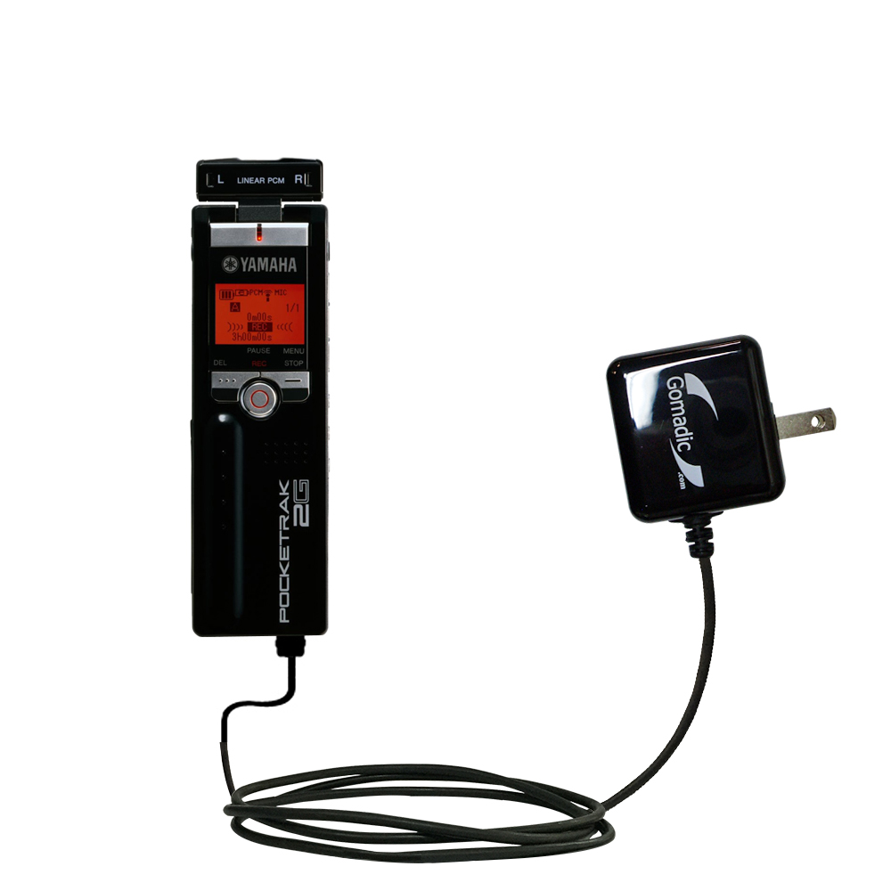 Wall Charger compatible with the Yamaha Pocketrak 2G