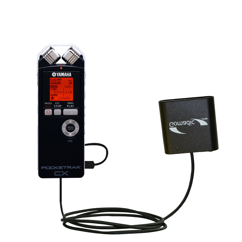 AA Battery Pack Charger compatible with the Yamaha Pocketrak CX