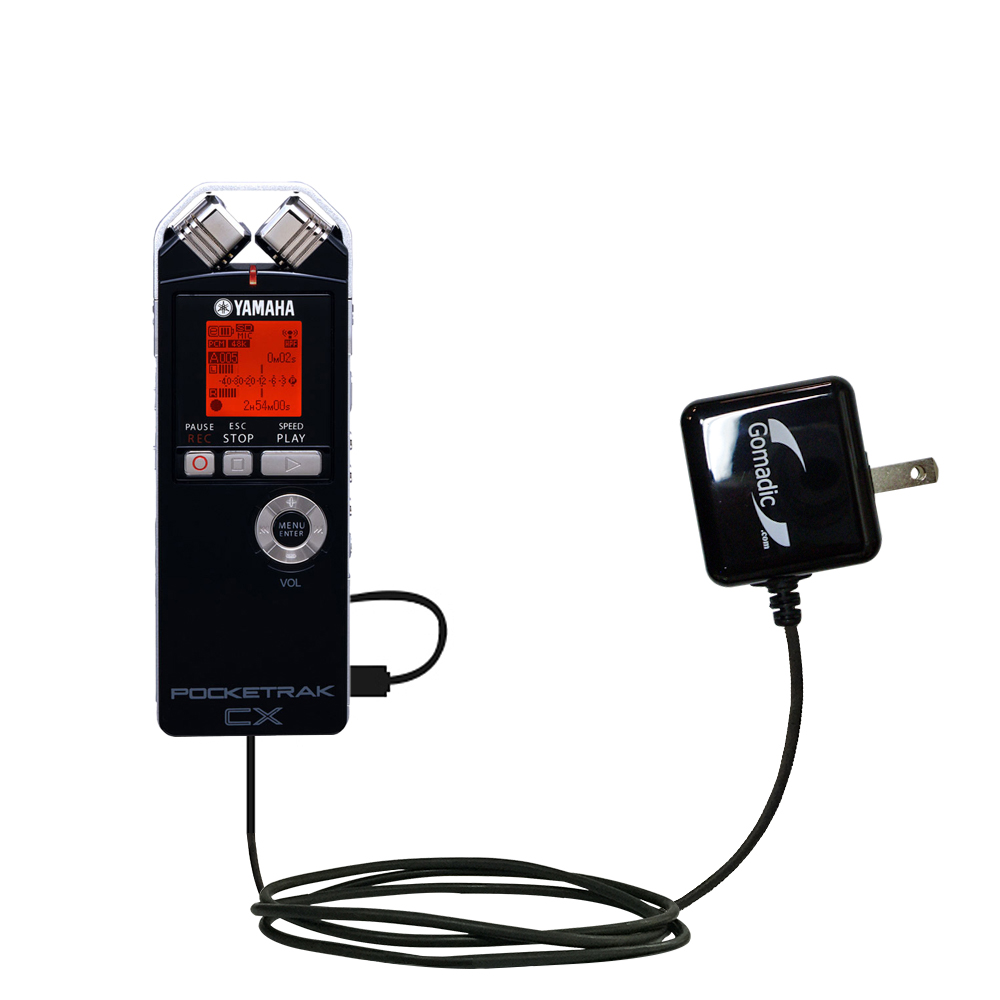 Wall Charger compatible with the Yamaha Pocketrak CX