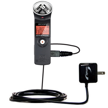 Wall Charger compatible with the Zoom H1