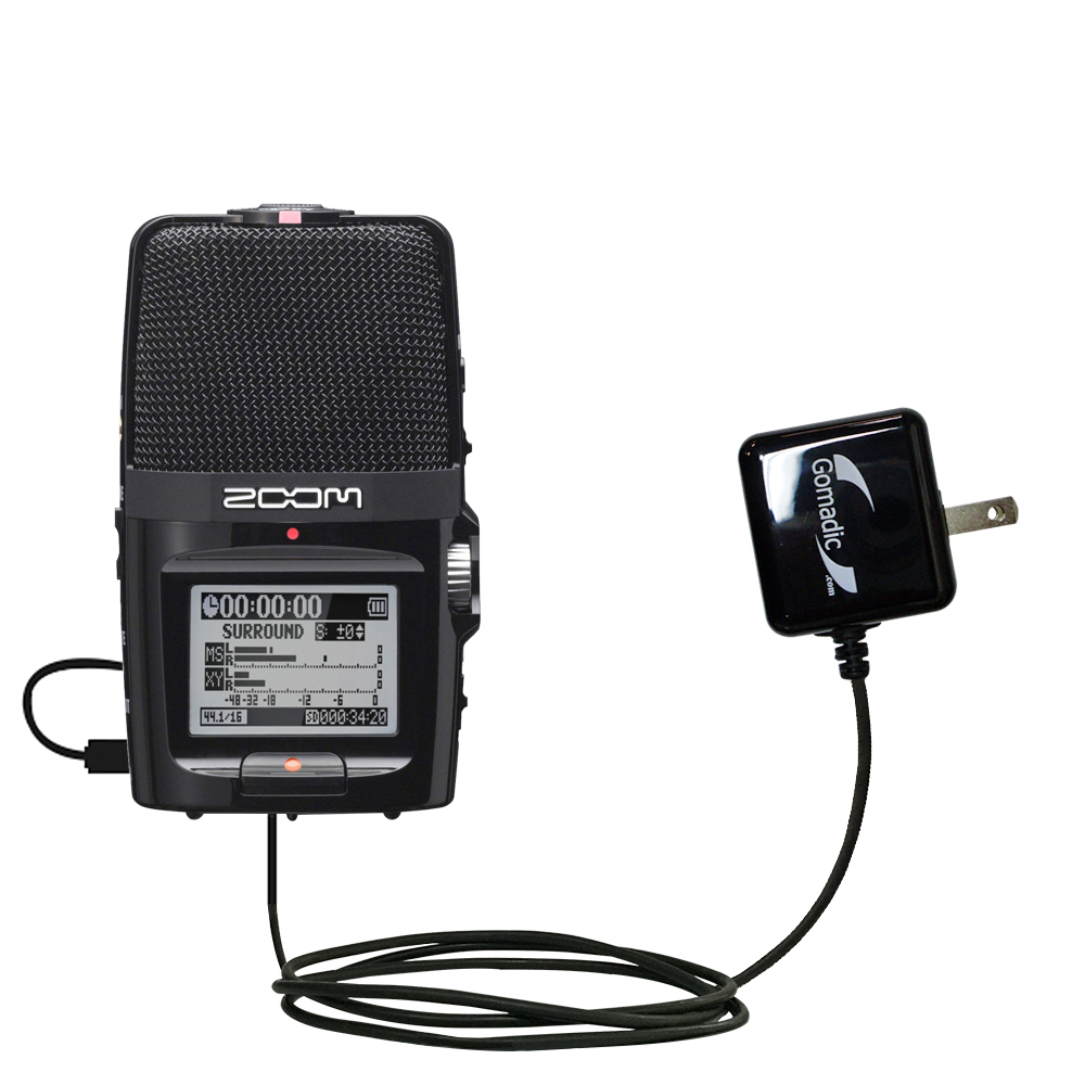 Wall Charger compatible with the Zoom H2n