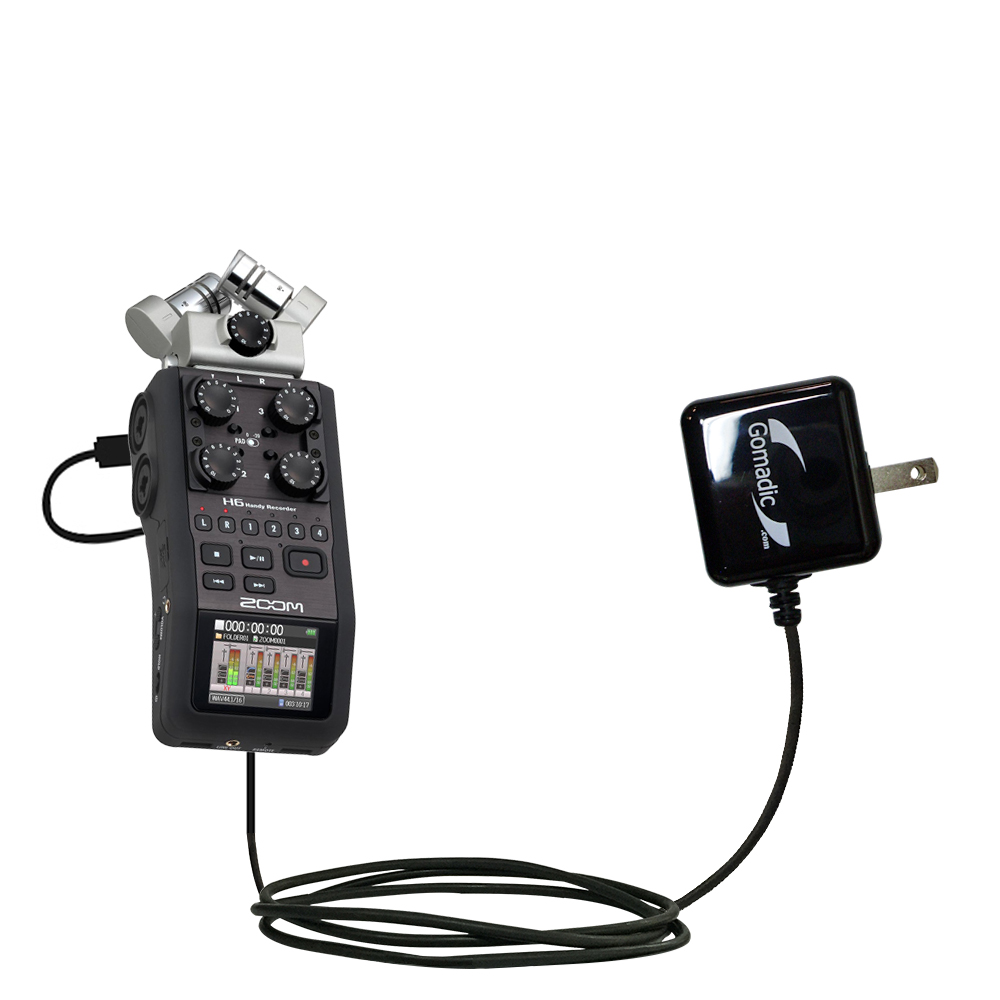 Wall Charger compatible with the Zoom H6