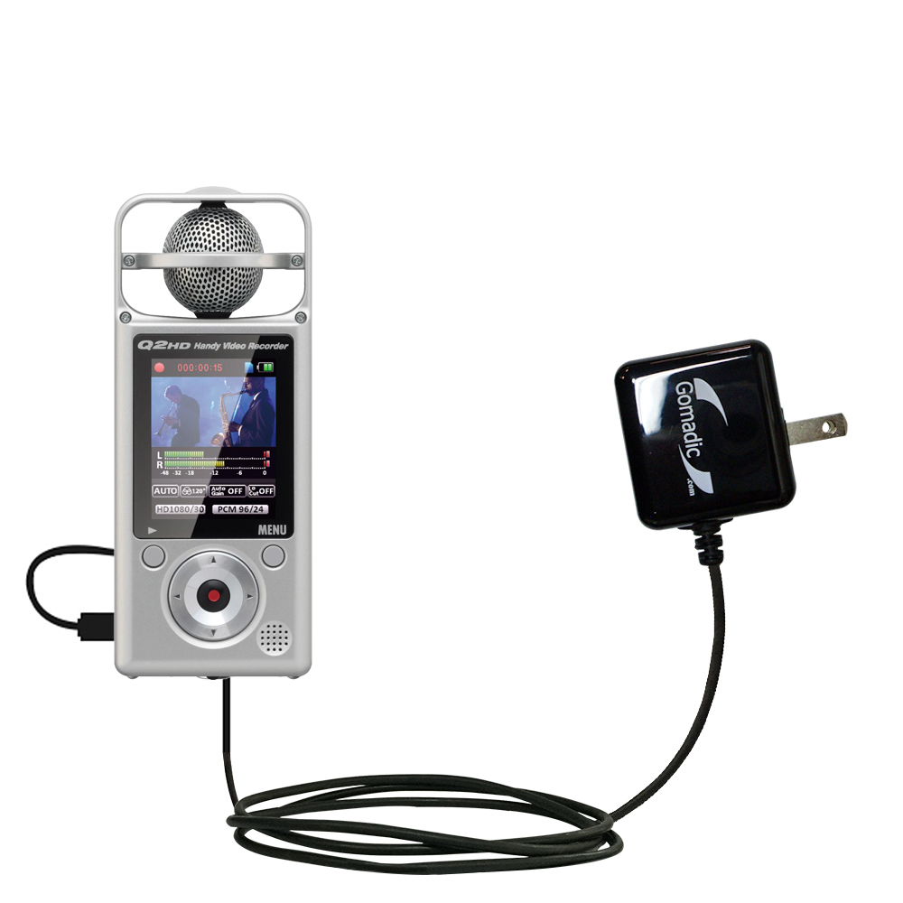 Wall Charger compatible with the Zoom Q2HD
