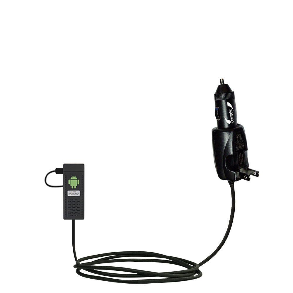 Car & Home 2 in 1 Charger compatible with the Android UG802 Mini PC