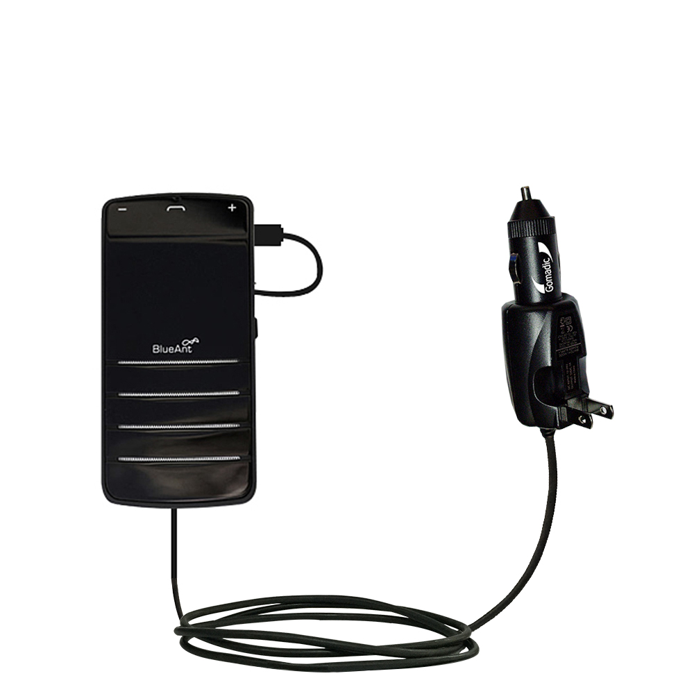 Car & Home 2 in 1 Charger compatible with the BlueAnt COMMUTE
