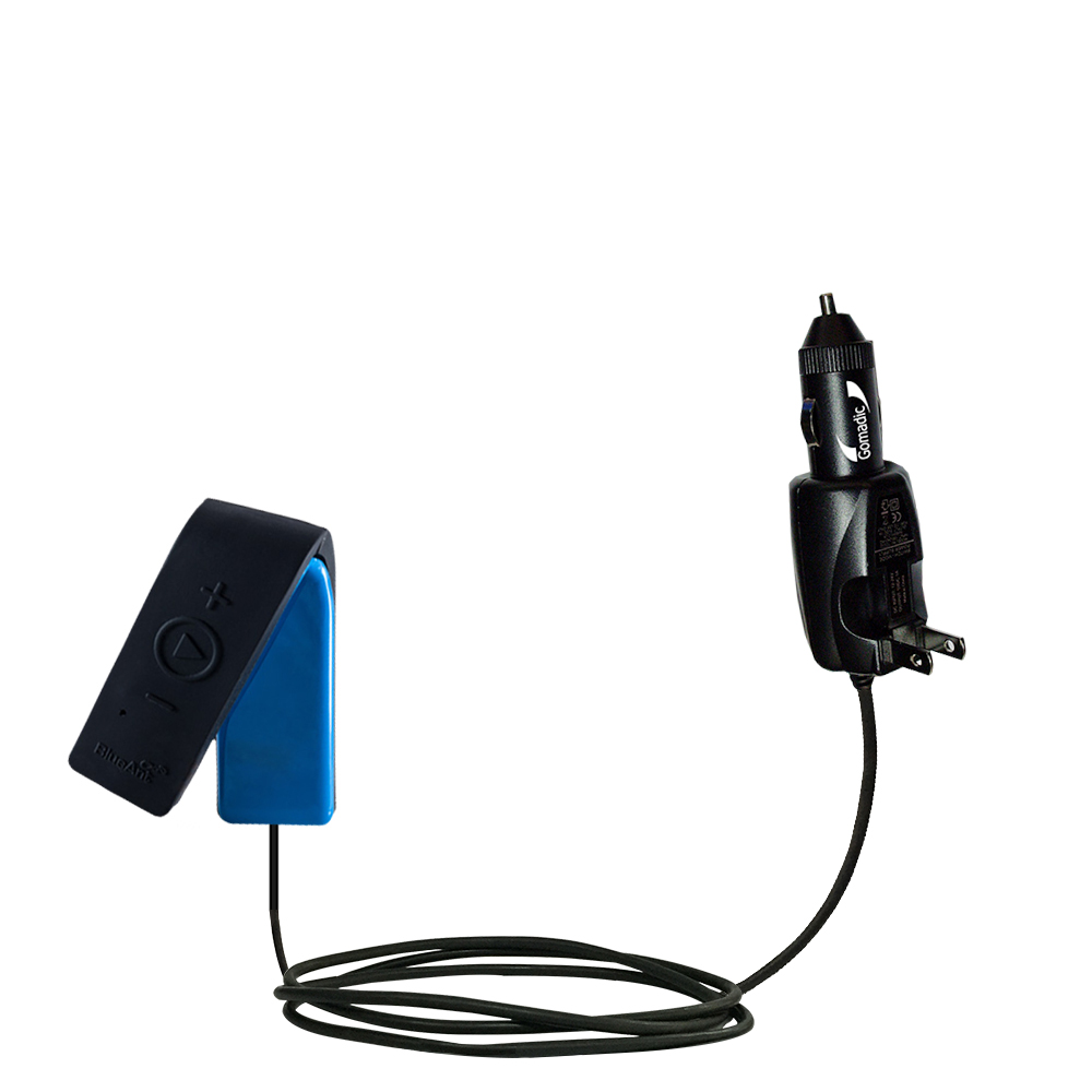 Car & Home 2 in 1 Charger compatible with the BlueAnt RIBBON