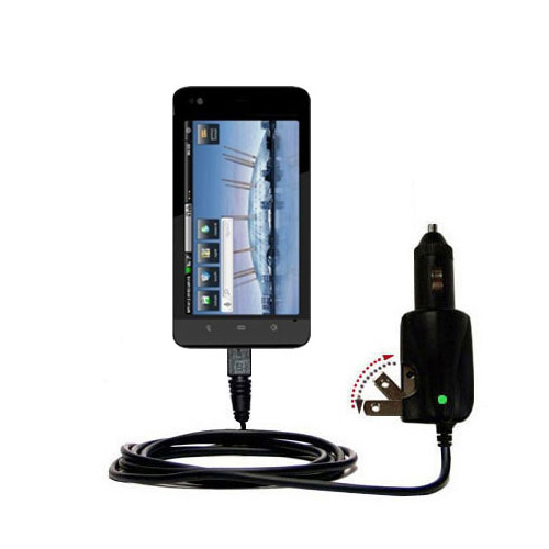 Car & Home 2 in 1 Charger compatible with the Dell Streak 5