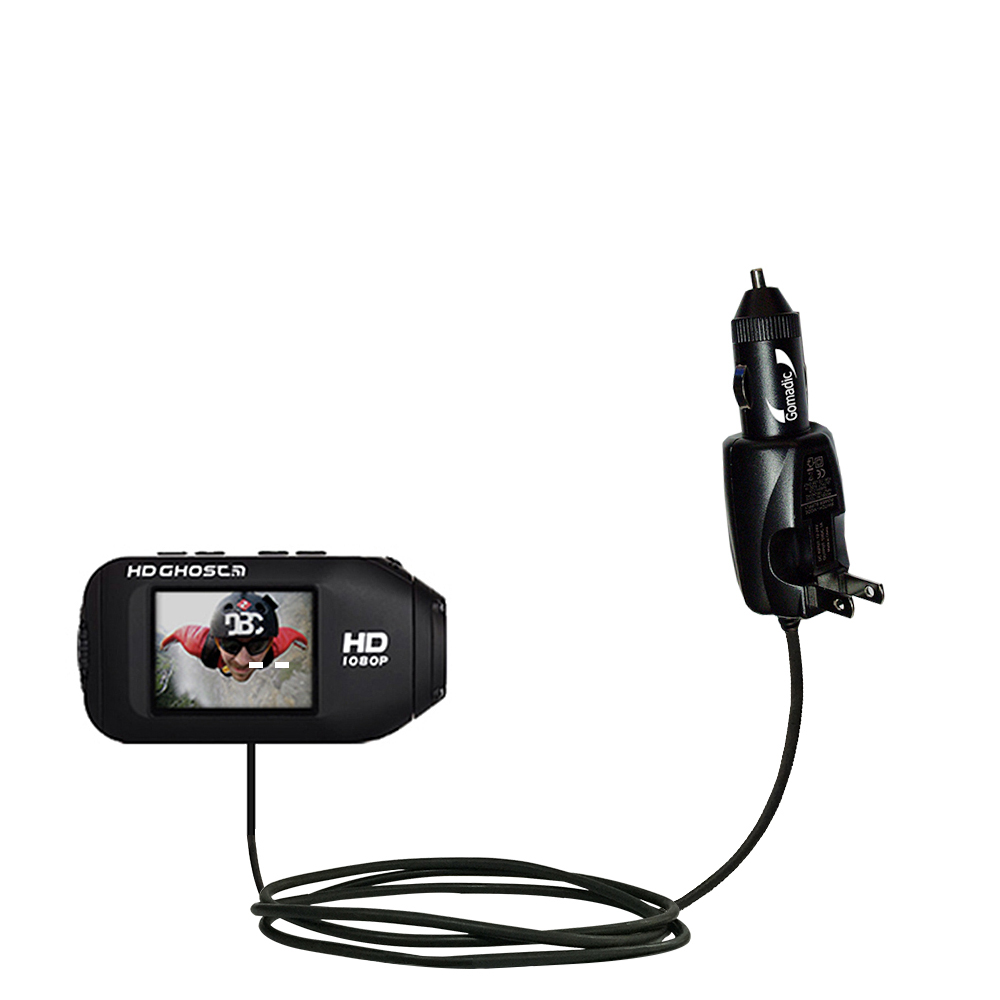 Car & Home 2 in 1 Charger compatible with the Drift HD / Ghost / 170 / 720