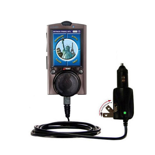Car & Home 2 in 1 Charger compatible with the ECTACO iTRAVL Series