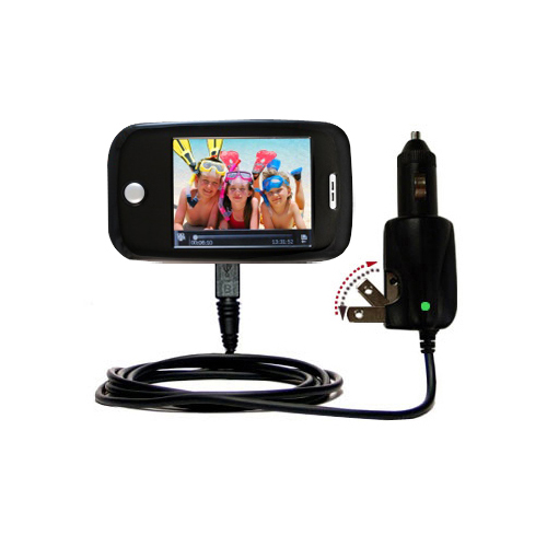 Car & Home 2 in 1 Charger compatible with the Ematic E6 Series