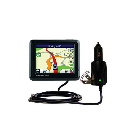 Car & Home 2 in 1 Charger compatible with the Garmin Nuvi 1210