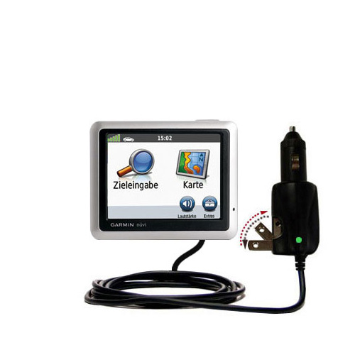 Car & Home 2 in 1 Charger compatible with the Garmin Nuvi 1240