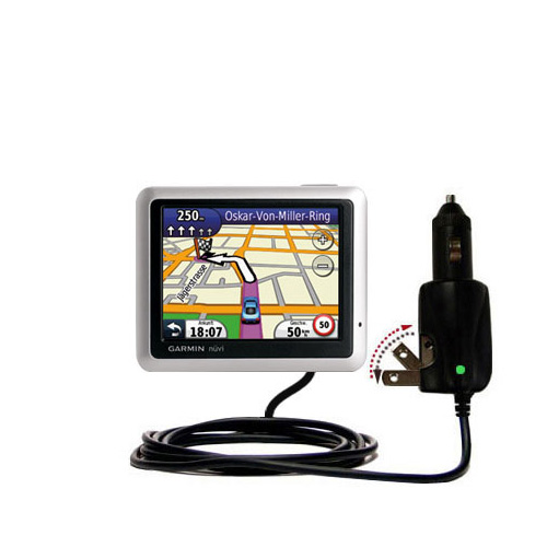 Car & Home 2 in 1 Charger compatible with the Garmin Nuvi 1245 City Chic
