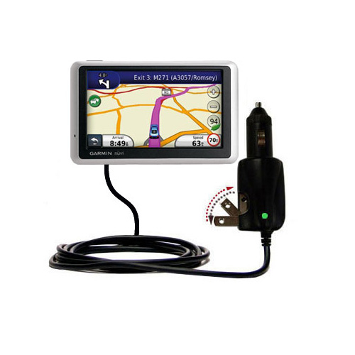 Car & Home 2 in 1 Charger compatible with the Garmin Nuvi 1340T