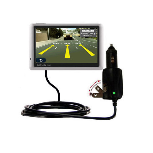 Car & Home 2 in 1 Charger compatible with the Garmin Nuvi 1450T