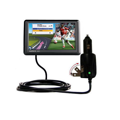 Car & Home 2 in 1 Charger compatible with the Garmin Nuvi 1490Tpro