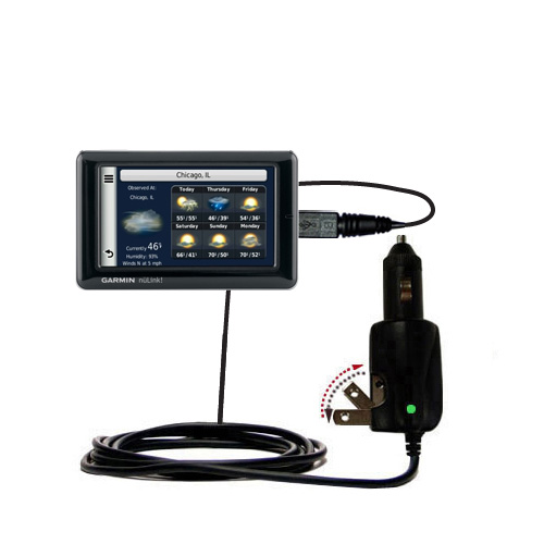 Car & Home 2 in 1 Charger compatible with the Garmin Nuvi 1695