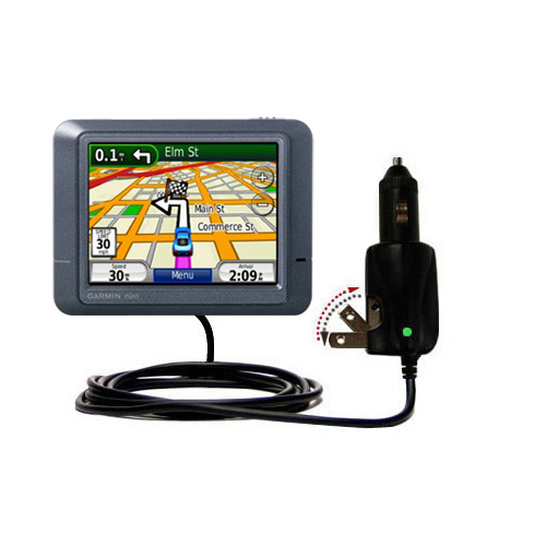 Car & Home 2 in 1 Charger compatible with the Garmin Nuvi 215