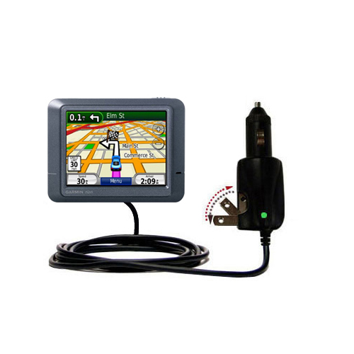 Car & Home 2 in 1 Charger compatible with the Garmin Nuvi 245T