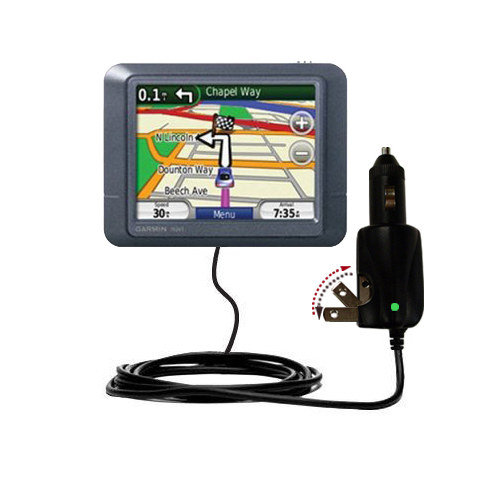 Car & Home 2 in 1 Charger compatible with the Garmin Nuvi 255