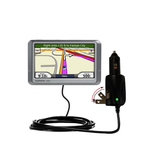 Car & Home 2 in 1 Charger compatible with the Garmin Nuvi 255W 255WT 255